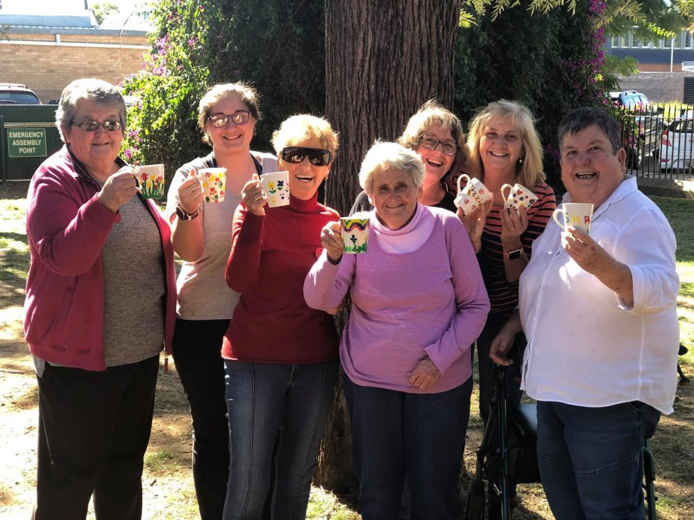 Moree Womens Shed Cups
